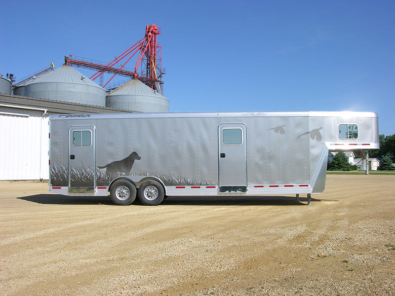 Featherlite Graphics Vinyl Decals Vehicle Wraps Paint And - Custom vinyl decals for trailers